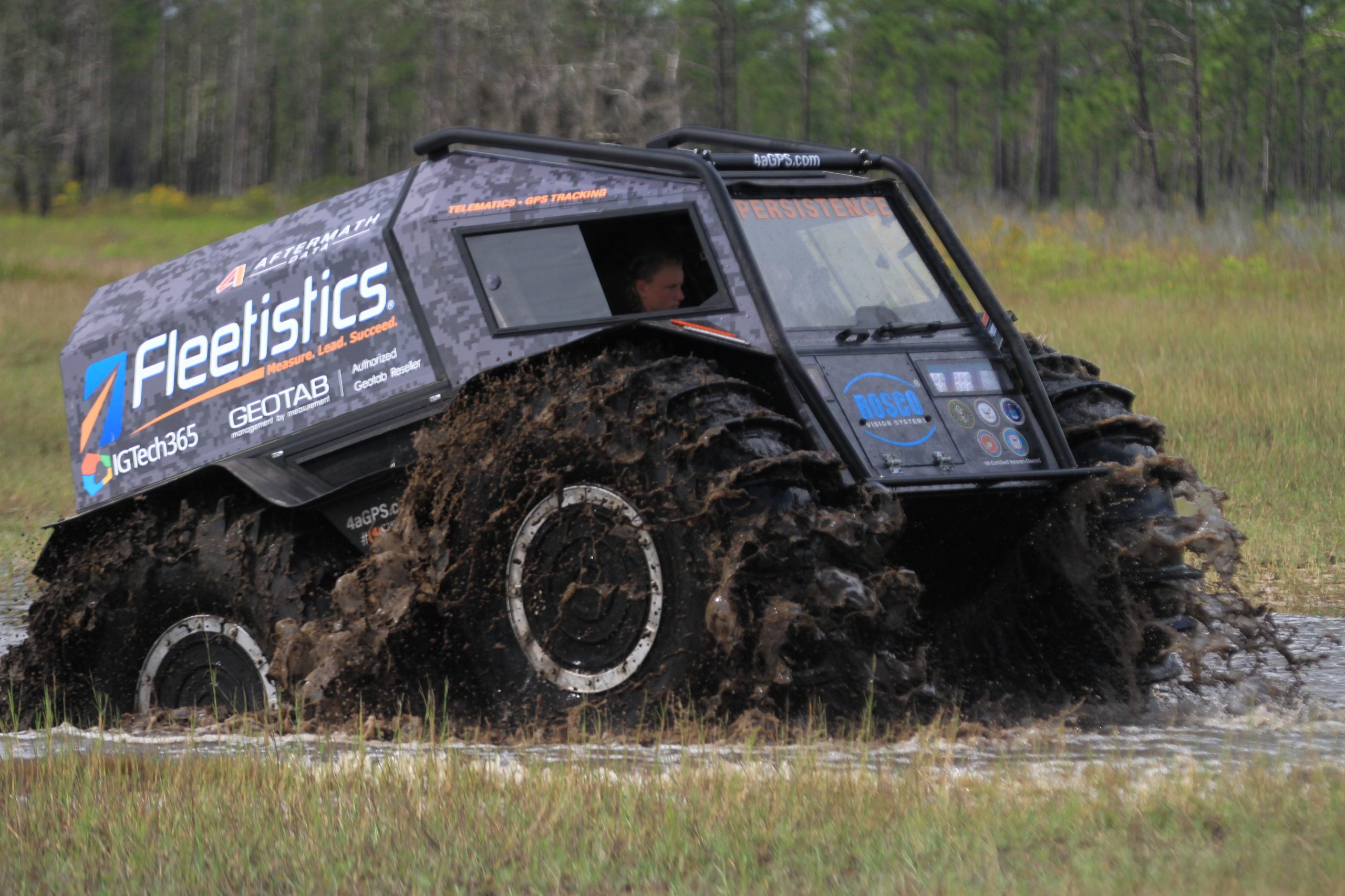 Sherp ATV Off-Road Mud
