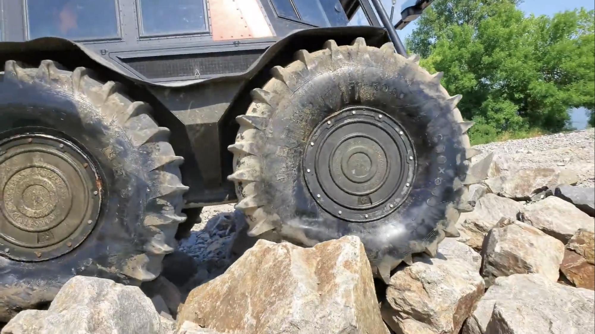 Sherp ATV Rock Crawling