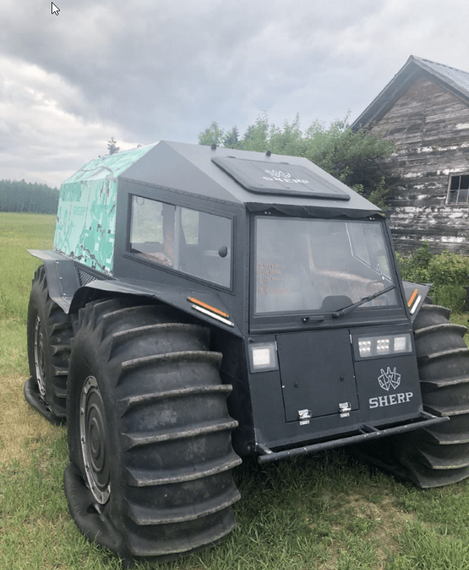 Used Sherp ATV Sale 2017 343 hours