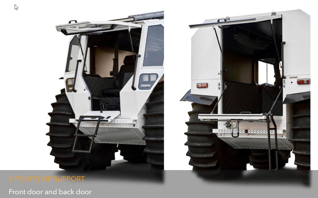 Sherp Pro XT Front Rear Doors