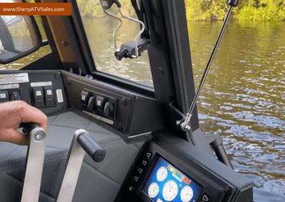 Sherp Pro XT Steering