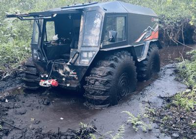 Sherp Pro XT in Mud